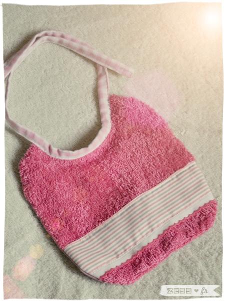 diy bébé bavoir cube couture chaussons crochets nichoir