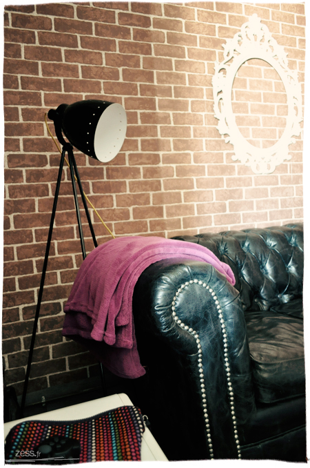 salon rétro vintage chesterfield