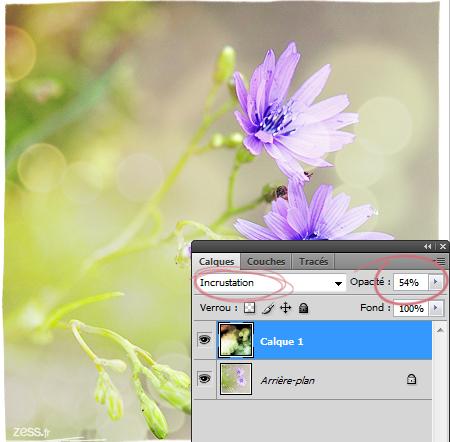 tuto photoshop bokeh