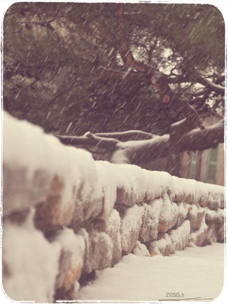 neige nimes