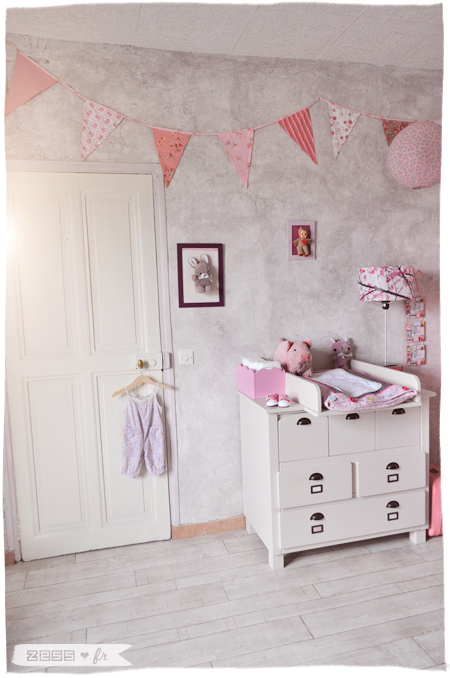 chambre bébé fille vintage rétro romantique vertbaudet ...