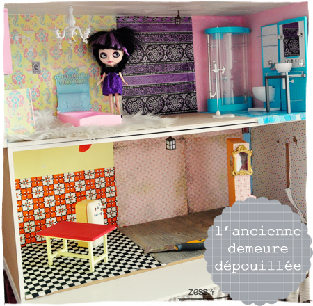 blythe dollhouse maison de poupée bricolage