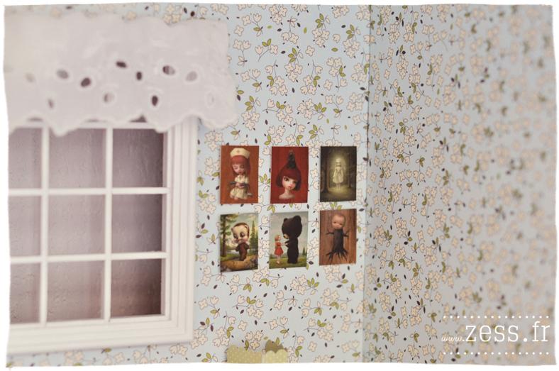 blythe pullip dollhouse maison de poupée