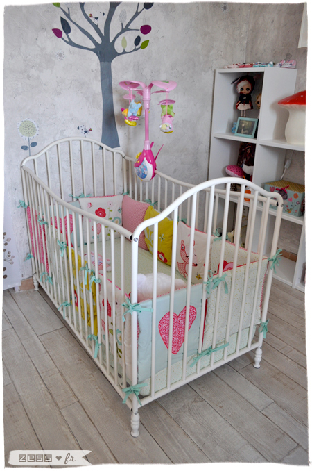 la chambre de lily-rose  le coin dodo     lifestyle   mode   d u00e9co   maman   diy