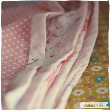 décoration chambre bébé fille vintage rétro fleuri