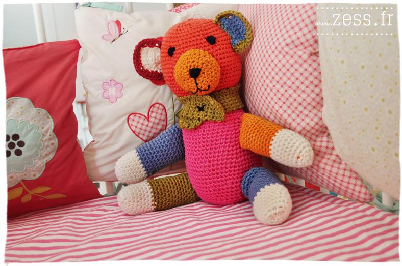nounours crochet handmade