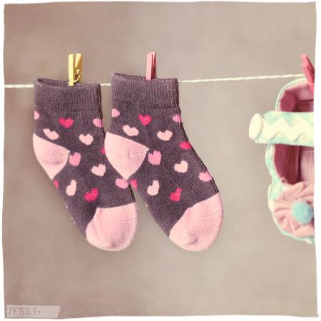 couture bébé chaussons chaussures diy handmade