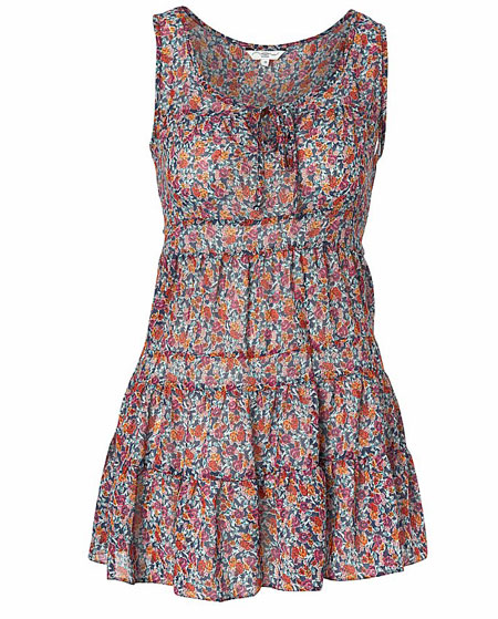robe bustier liberty new look