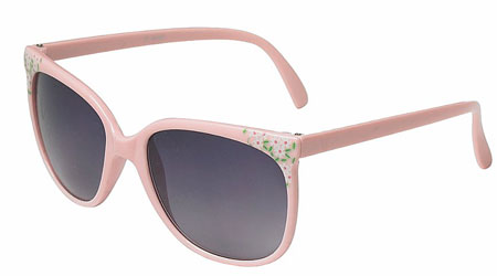 lunette rose rayban liberty new look