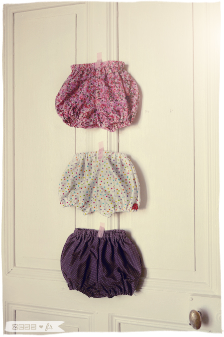 bloomer bavoir diy bébé liberty patchwork pois