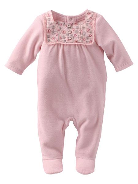 sélection shopping vertbaudet chambre bébé pijama fleur