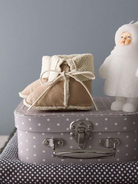 sélection shopping vertbaudet boots bottilons fourrure fourré moumoute rétro bébé