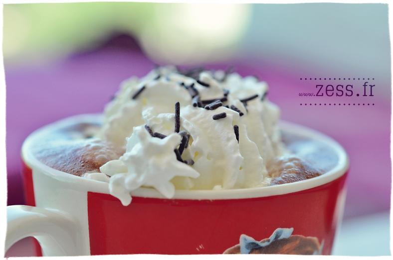 chocolat chaud macro