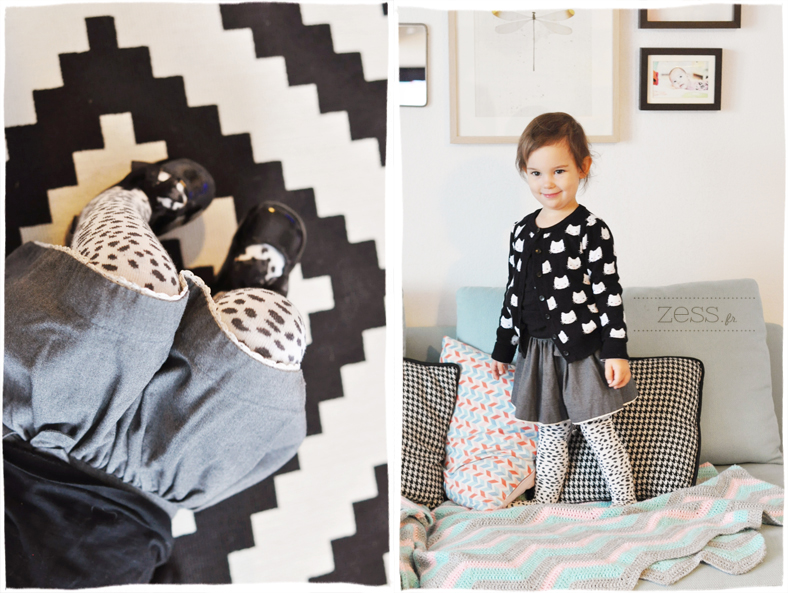 look enfant noir blanc black white blogo kid
