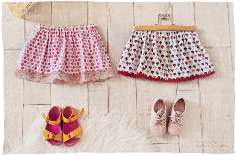 jupe tuto enfant rapide couture handmade