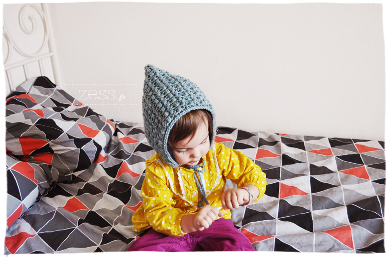 diy potholder bonnet enfant crochet tricot