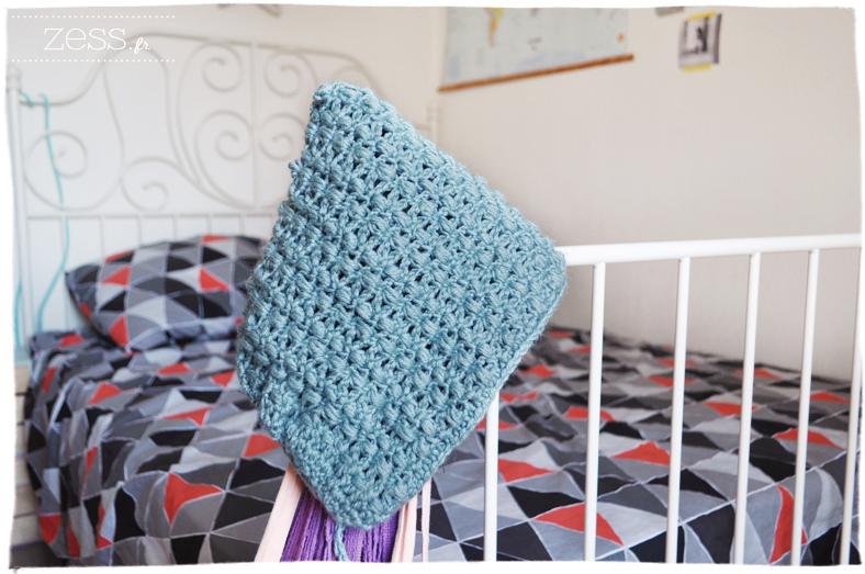 diy crochet bonnet potholder