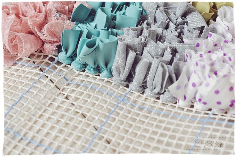 diy boucherouite boucharouette tapis rug tuto