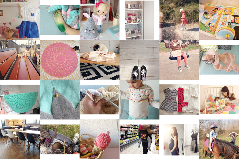 instagram @zessfr maternité blog maman