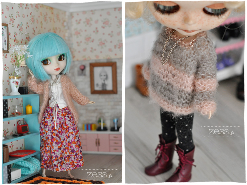 knit doll blythe jumper sweater pullip top pattern tuto diy