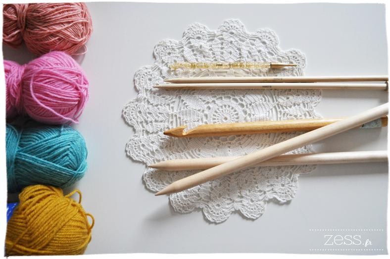 tricoter ou crocheter