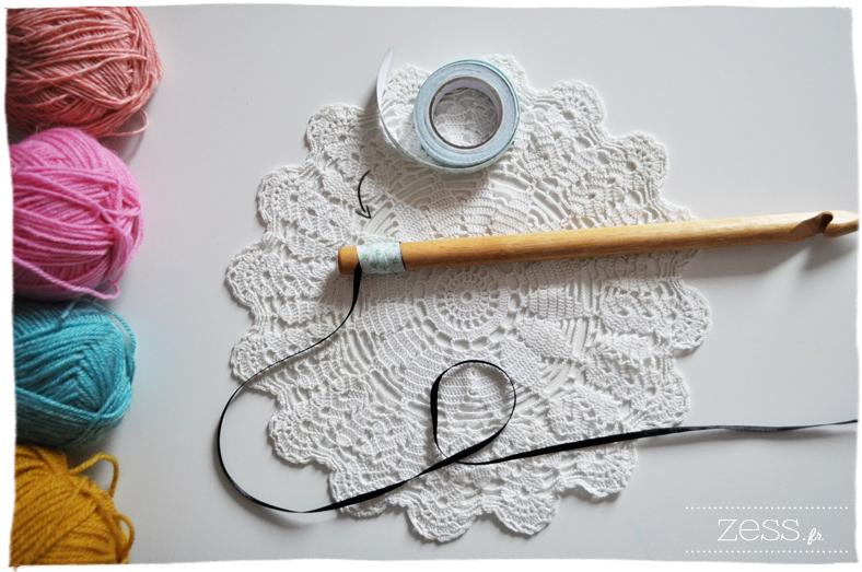 knook tricoter avec un crochet tricot