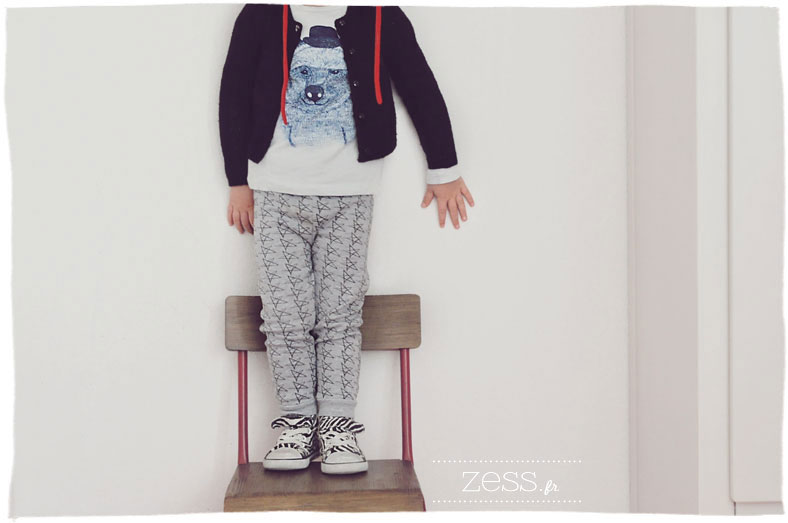 look enfant étoile legging gardner and the gang zara ikks ours