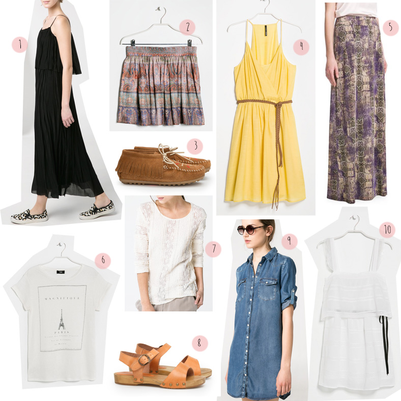 sélection shopping mango femme