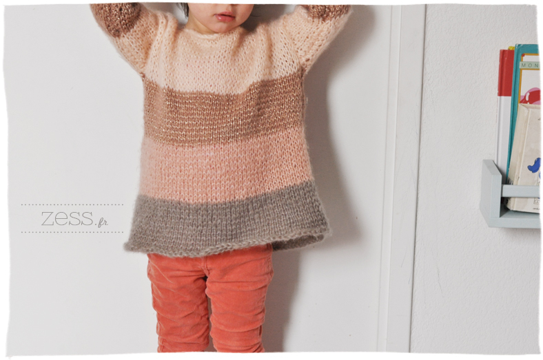 pull phildar enfant pitchoun 101 phil light strass light liseuse endroit tricot