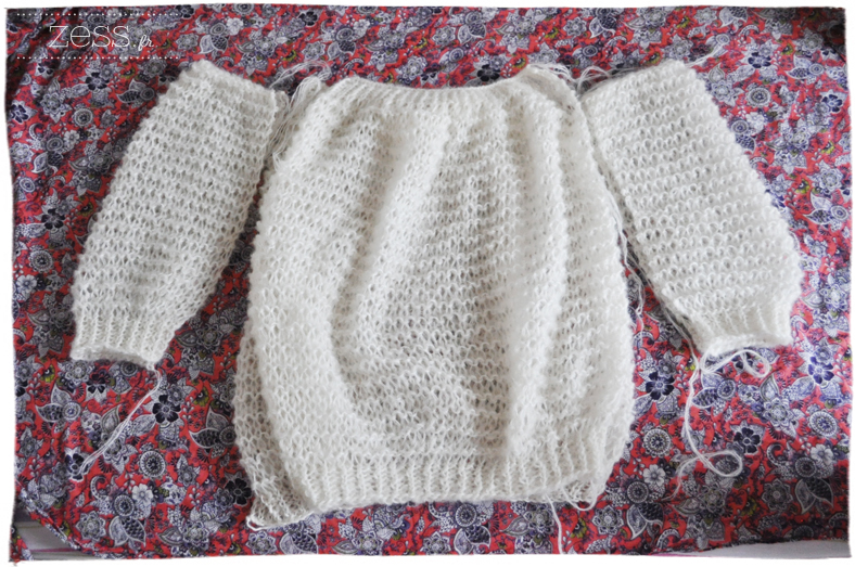 pull didicatcat knook crochet knit tricot loose diy