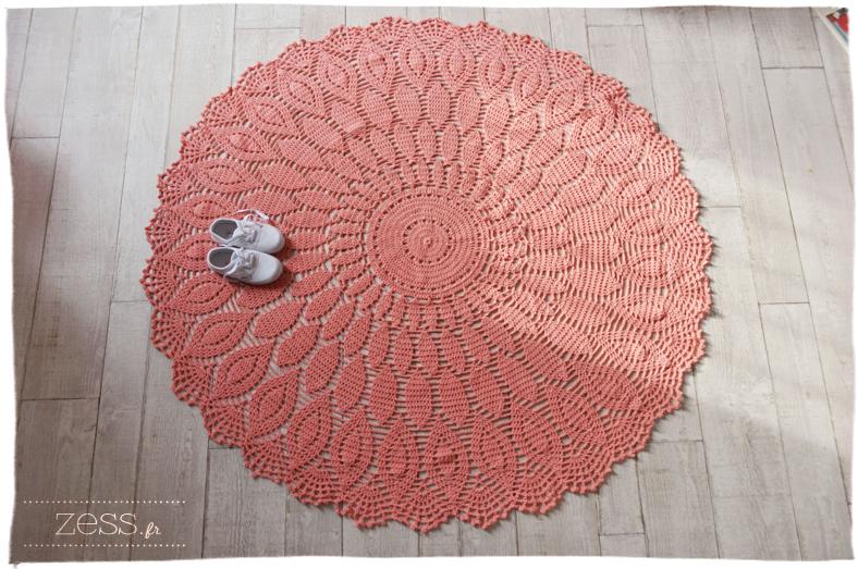 tapis phildar crochet