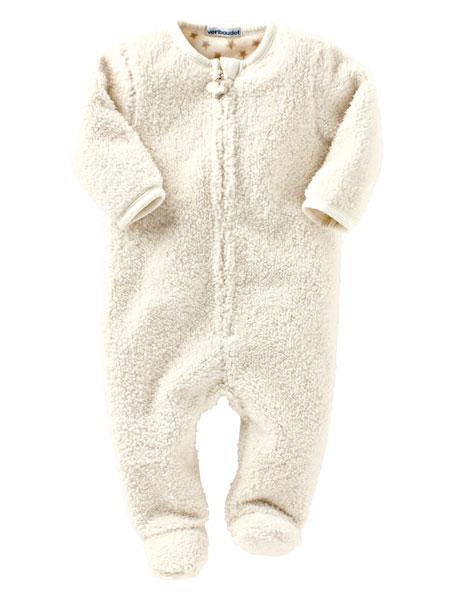 sélection shopping vertbaudet surpijama combinaison moumoute fausse fourrure bébé
