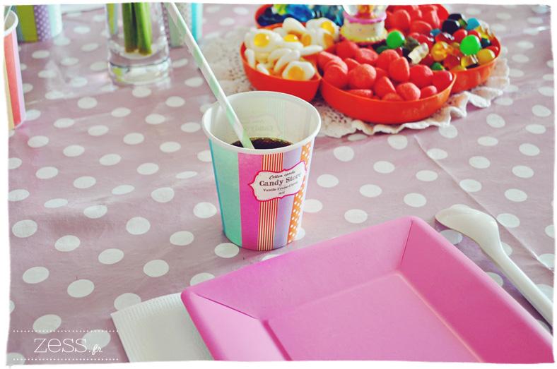 anniversaire enfant déco sweet table
