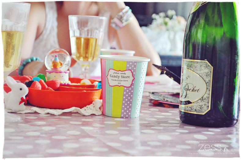anniversaire enfant déc sweet table