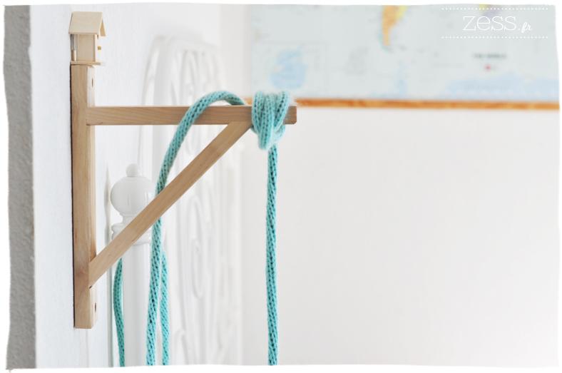 balladeuse tricotin laine vintage scandinave