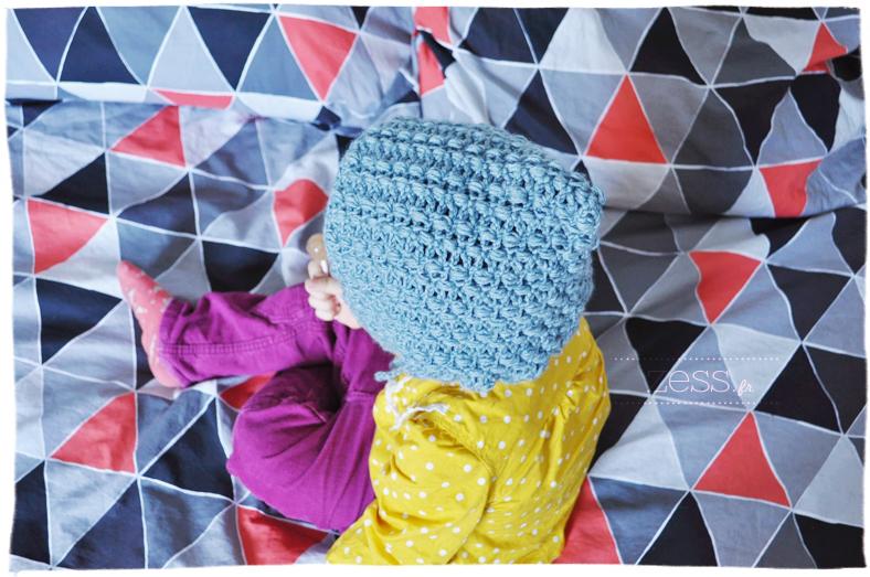 diy crochet bonnet