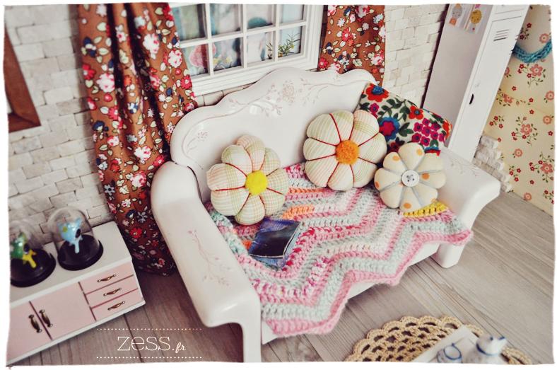 blythe pullip hujoo dollhouse living room salon