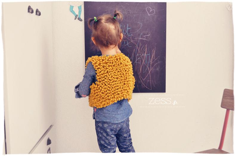 phildar gilet enfant fourrure crochet catalogue