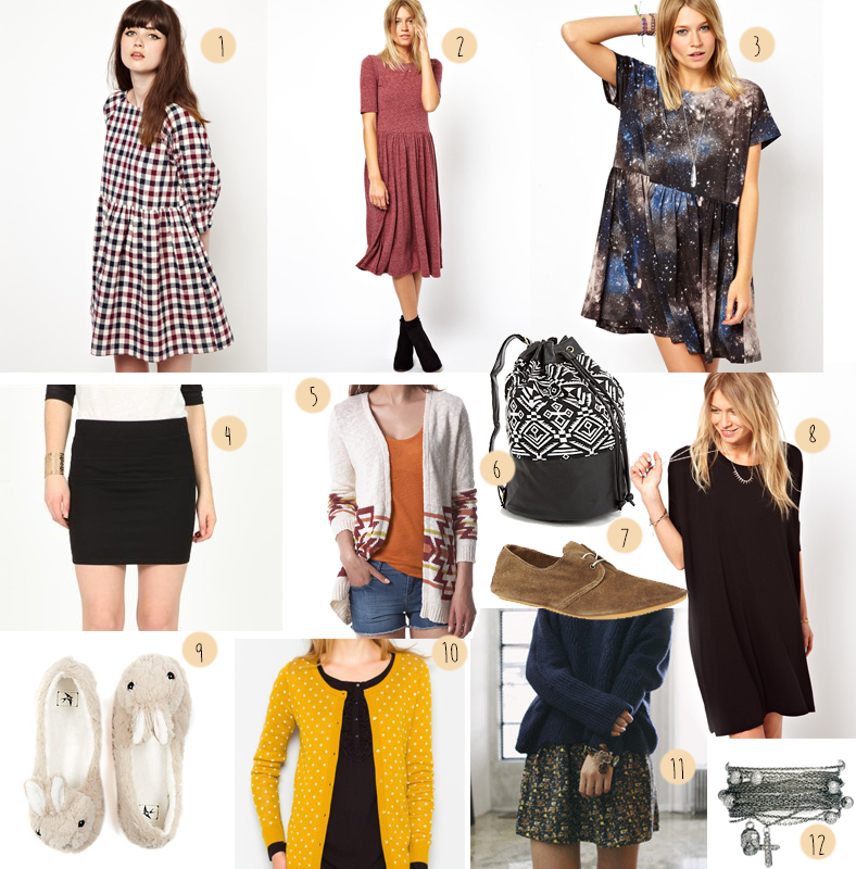 selection shopping automne femme look