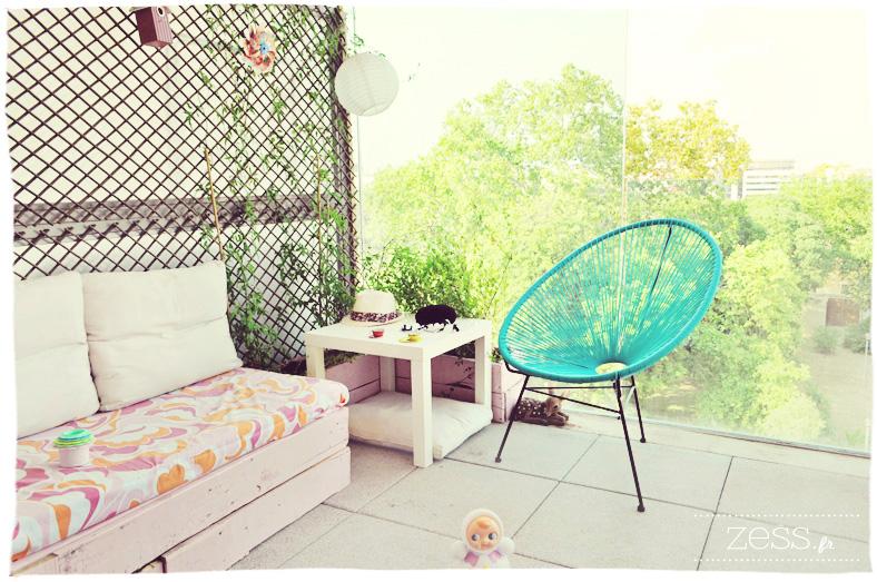 terrasse vintage chevron copacabana