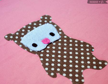 tutorial tuto doudou étiquettes couture bébé patchwork