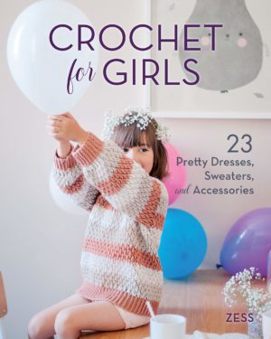 mini dressing au crochet poiur enfant english anglais