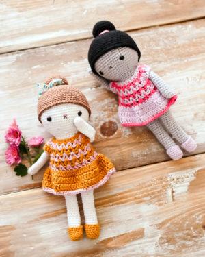 patron de crochet poupée zess