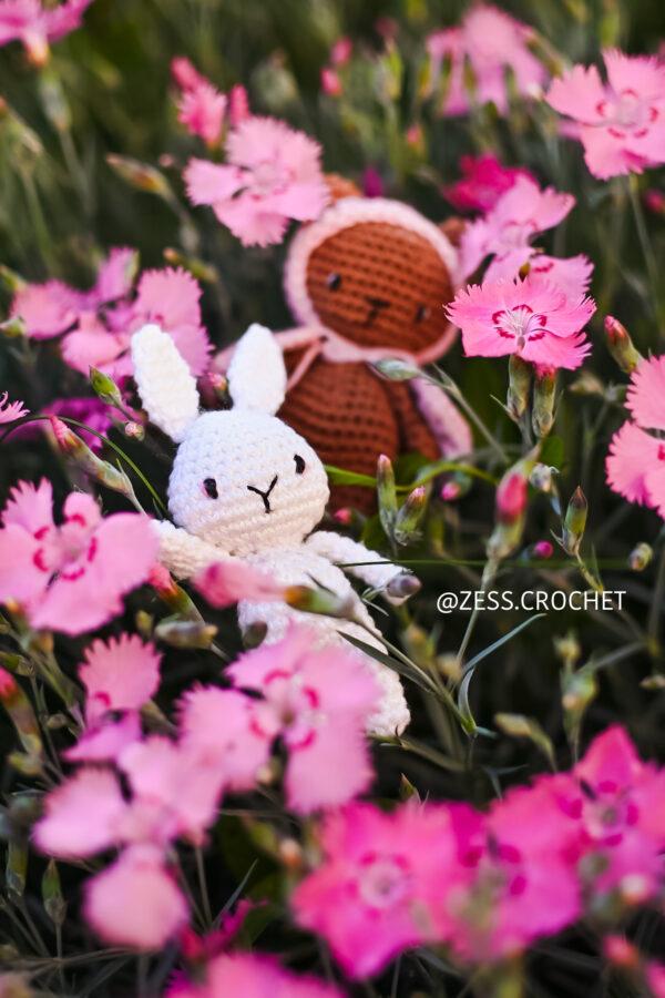 Mini lapin à crocheter facile Débutant