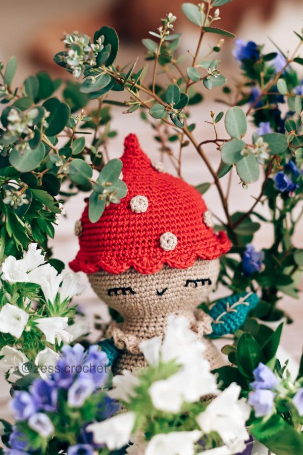 tuto champignon crochet doudou
