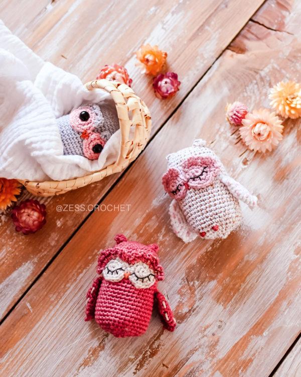 crochet pattern owl