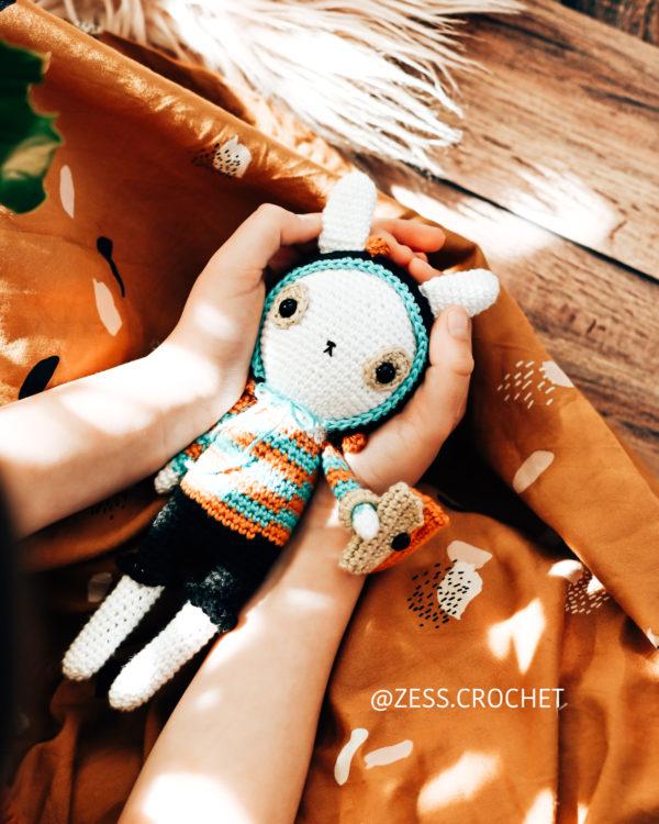 patron de crochet lapin
