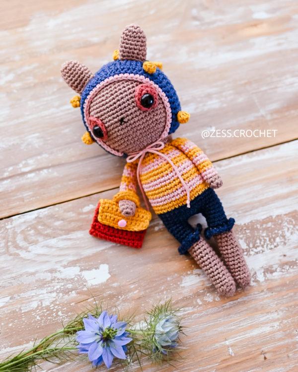 tuto crochet facile doudou lapin
