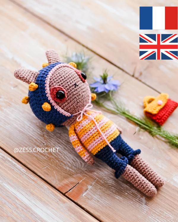 miki crochet pattern easy english francais