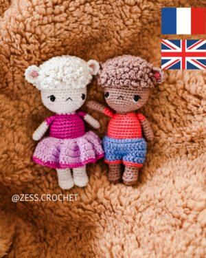 tutorial crochet sheep explanations